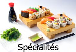 Nos spécialités