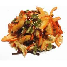 Salade de calamar pimentée au sésame