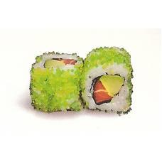 Maki masago (wasabi roll)