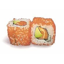 Maki masago, au goût naturel (6 pièces)
