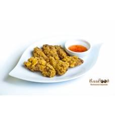 B3: Tempura poulets (6 pièces)
