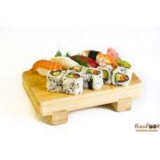 A9: 6 californias et 4 sushis