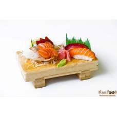 A6: 3 sushis et 6 sashimis