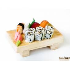 A2: 6 california et 4 sushis