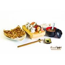 Menu kawayi =une entrée + un plat cru(Groupe A)+ un plat cuit(Groupe B),tous au choix.  prix emporté : 19.5 euros        Trouvez tous les plats dans la rubrique A LA CARTE.